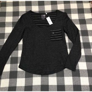 NWT Long sleeve Nollie top